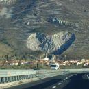 kamnolom v obliki srčka v okolici Trsta
