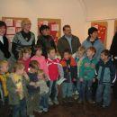 Umetniki, ki so Vrtcu Ciciban pomagali s svojimi izdelki popestriti razstavo