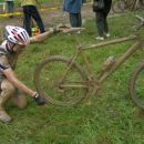 Saj vem, da nisem najbolj vesten pri čiščenju kolesa ampak nisem prepričan, da je tole moj