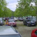 Parkirišče se polni ...