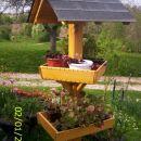 Vrtni steber za rože
