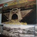 Plakat v čakalnici postaje Bohinjska Bistrica