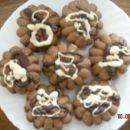 Brizgane čokoladni piškoti (val)
