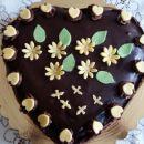 Čokoladno - jagodna torta (mamamia)