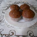 Čokoladne  maffine z jabolki