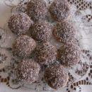 Polnozrnati piškoti s čokolado in kokosom