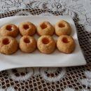 Kokosovi gumbki z marmelado
