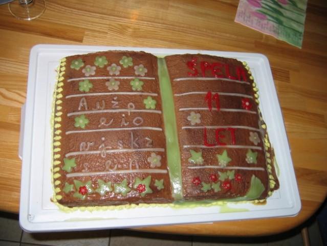 Torta 2007-čokoladna