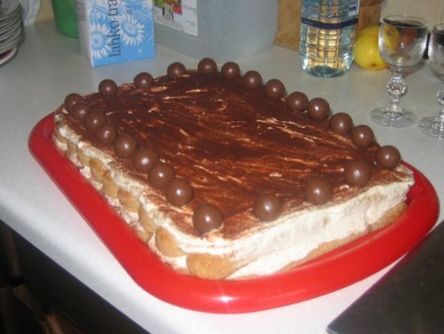 Tiramisu torta 2006