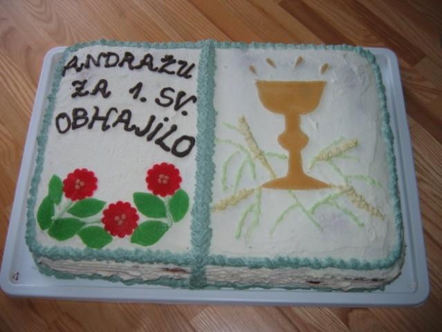 Obhajilo 2006 sadno čokoladna torta