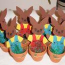 Zajčji zborček, ki čaka naše letošnje pirhe, ki jih bomo naredili jutri.