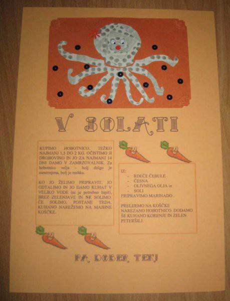 Nov recept v scrapbook vatianti