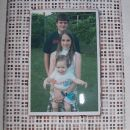 Mozaik - okvir s sliko treh vnukov za babicin rojstni dan
