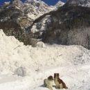 Letos je v Krnici zapadlo 6,5 m snega