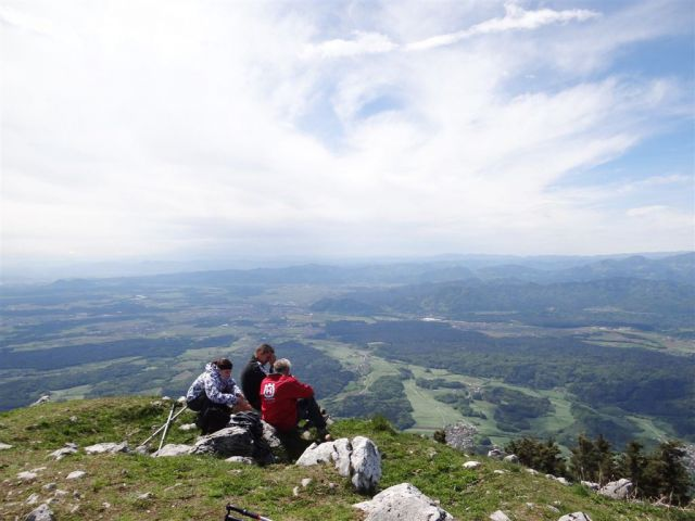 Gozd-Tovsti vrh-Kriška gora-4.5.2014 - foto