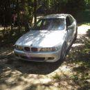 BMW 525d titan silber