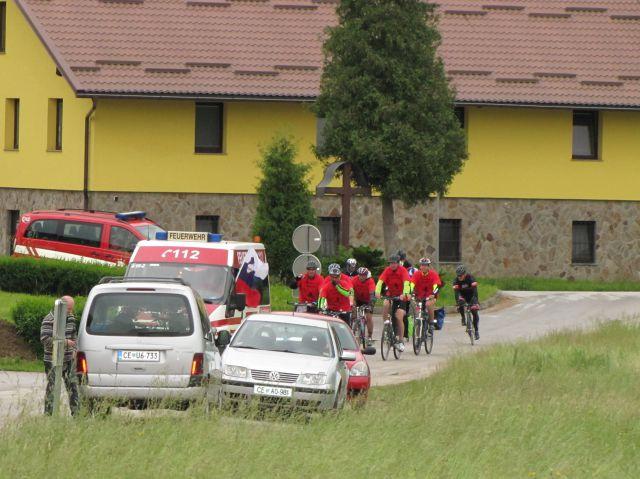 Iz Nemčije s kolesi - foto