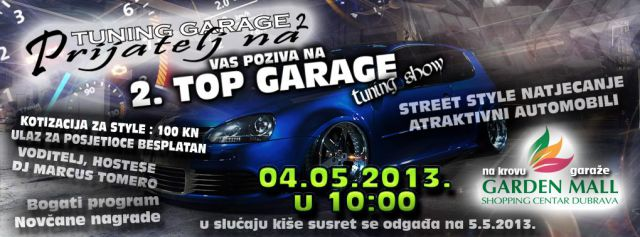 Top garage show - zagreb 2013 - foto