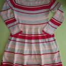 H&M obleka 134 - 140 črtna