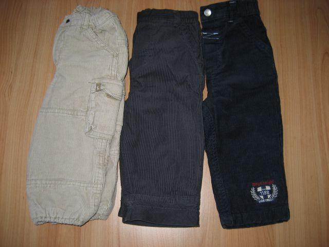 žametne podložene hlače 80 h&m mexx c&a