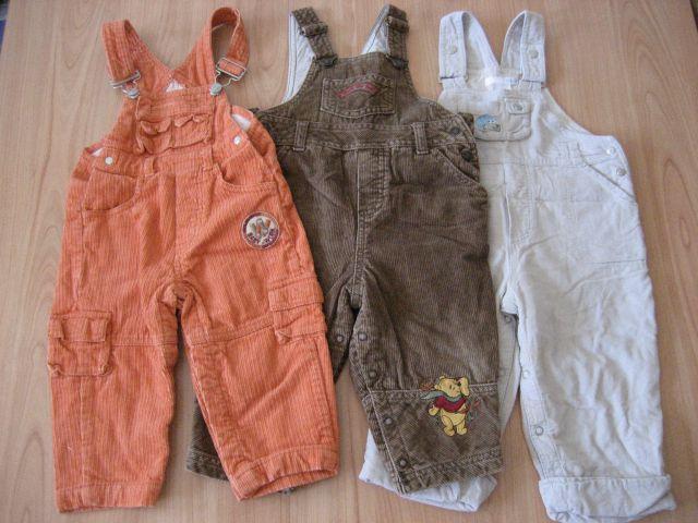 žametne hlače z naramnicami 80 na lac