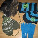 zimske kape rokavice 3 4 5 6 let