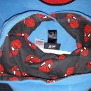 flis pulover spiderman 122-128 h&m