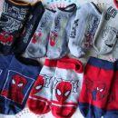 poletne nizke nogavice Spiderman, Strela Mcqueen, 23-26, 6 eur komplet