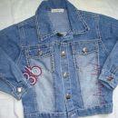 jeans jakna, 110-116, 5 eur