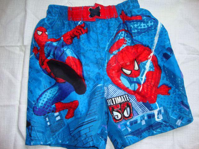Kopalke, kratke hlače spiderman, 110-116, 4 eur