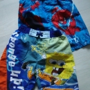 kopalne hlače, kopalke 110-116, 3 eur za kos, 5eur komplet