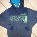 toplejši pulover, kapucar 152-158, 4 eur