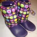 crocs zimski škornji J3, naša 33-34 (takrat jih je nosila hči), 10 eur