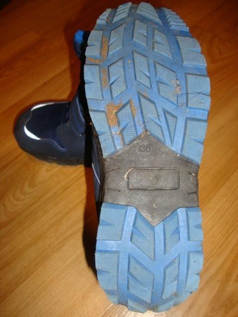 Hofer zimski škornji, 35, 8 eur