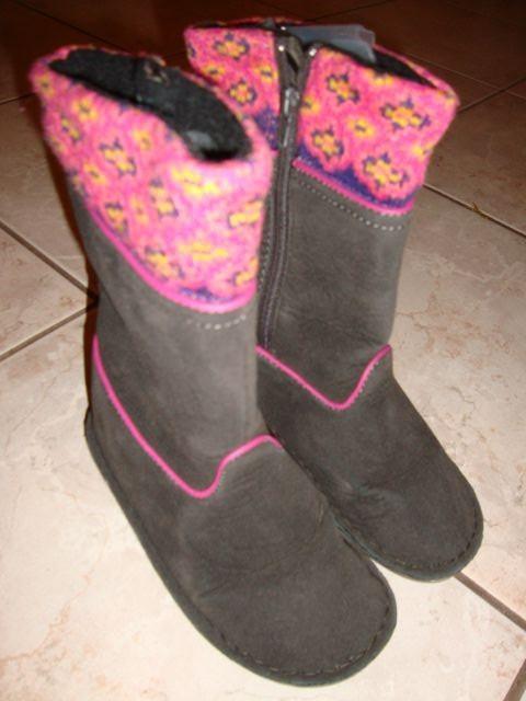 Tchibo škornji, uggice 26-27-28, 10 eur