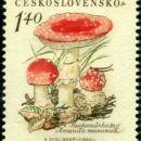 Poštne znamke - gobe