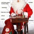 Kostumi za božička brade in lasulje za dedka