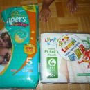 Pampers in Lumpi plenice