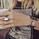 UZ prstan in zapestnica - original swarovski