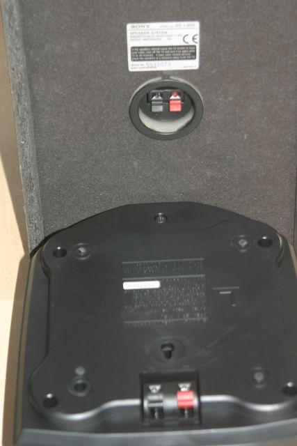 Zvočnik Sony-priklop