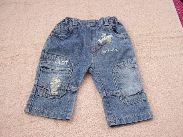 Jeans v 68 cena 3 eur