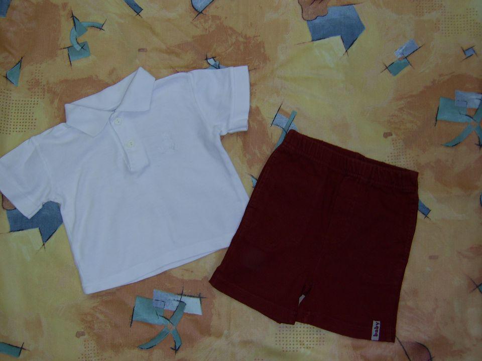 hlače H&M v68 cena 1,5 eur majčka v 68 cena 2, eur