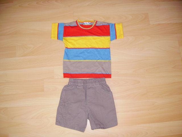 Majčka DELFINO v 68/74 cena 3 eur nova - hlače  OLD NAVY v 3 - 6 m vena 3 eur
