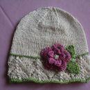 ročno pletena kapa