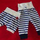 mornarske kratke in dolge hlače