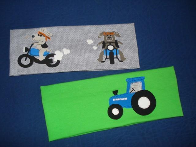 Trak za ušesa motorist in traktor