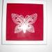 idrijska čipka - metulj