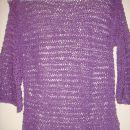 bombažen pleten pulover za hčerko 12 let