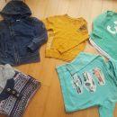 komplet oblačil za frajerje 4-5, 25 eur