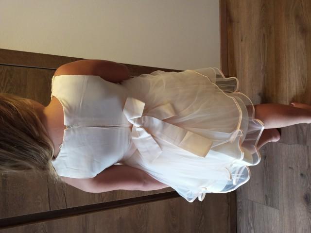 Elegantna oblekca 116/122 - foto